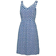 Buy Fat Face Elloway Batik Waves Dress, Indigo Online at johnlewis.com