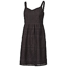 Buy Fat Face Broderie Dress Online at johnlewis.com
