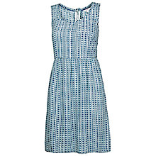 Buy Fat Face Sway Mini Diamond Dress, Indigo Online at johnlewis.com