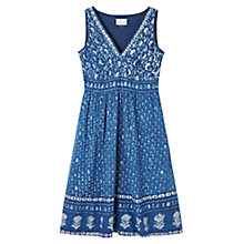 Buy East Jodhpur Print Cotton Dress, Pompeii Online at johnlewis.com