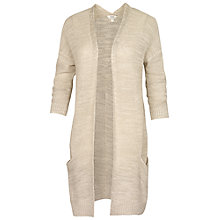 Buy Fat Face Camborne Knitted Cardigan, Ivory Online at johnlewis.com