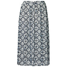 Buy Fat Face Collier Diamond Skirt, Ivory Online at johnlewis.com