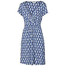 Buy Fat Face Camille Rachita Dress, Chambray Online at johnlewis.com