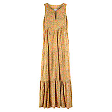 Buy East Sharma Print Cotton Dress, Meadow Online at johnlewis.com