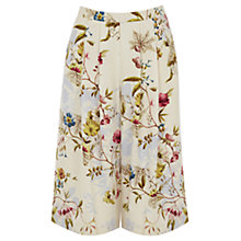 Buy Oasis Anna Maria Print Culottes, Multi Online at johnlewis.com