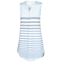 Buy Fat Face Chambray Shoreham Stripe Tunic, Blue Online at johnlewis.com