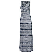 Buy Fat Face Bea Liana Maxi Dress, Indigo Online at johnlewis.com