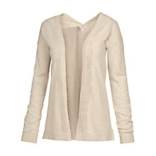 Buy Fat Face Billacombe Lace Cardigan, Ivory Online at johnlewis.com