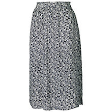 Buy Fat Face Forest Skirt, Navy Online at johnlewis.com