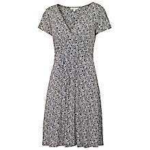 Buy Fat Face Camille Floral Forest Dress, Navy Online at johnlewis.com