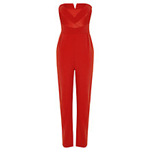 Buy Coast Castana Jumpsuit, Red Online at johnlewis.com
