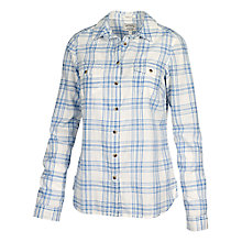 Buy Fat Face Classic Fit Shirt, Stonewash Blue Online at johnlewis.com
