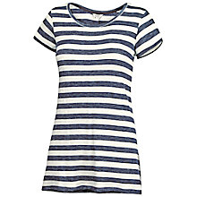 Buy Fat Face Devon Stripe T-Shirt, Navy Online at johnlewis.com