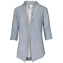 Buy Fat Face Callington Mini Madison Relaxed Blazer, White Online at johnlewis.com