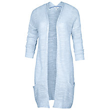 Buy Fat Face Camborne Knitted Cardigan, Stonewash Online at johnlewis.com