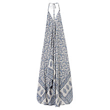 Buy East Virginia Handkerchief Silk Dress, Smoke Online at johnlewis.com