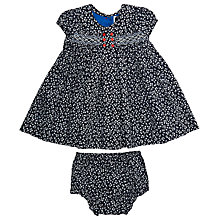 Buy Question Everything Baby's Honey Hand Smocked Dress Online at johnlewis.com