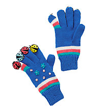 Buy John Lewis Ladybug Novelty Gloves, Blue Online at johnlewis.com