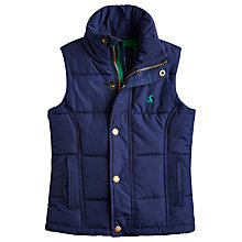 Buy Little Joule Boys' Padded Gilet, Blue Online at johnlewis.com