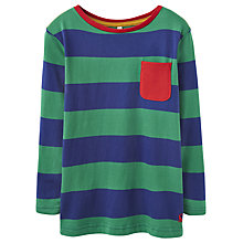 Buy Little Joule Boys' Oscar Stripe Long Sleeve T-Shirt Online at johnlewis.com