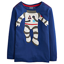 Buy Little Joule Boys' Astronaut Long Sleeve Jersey Top Online at johnlewis.com