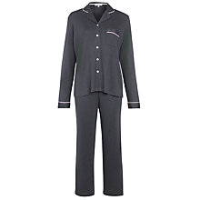 Buy John Lewis Thermal Pyjama Set, Grey Online at johnlewis.com