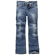 Buy Fat Face Smithy Bootcut Blue Vintage Jeans, Denim Online at johnlewis.com