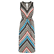 Buy Oasis Zanzi Placement Print Midi Dress, Multi Online at johnlewis.com