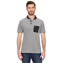 Buy Original Penguin Booth Polo Shirt, Rain Heather Online at johnlewis.com