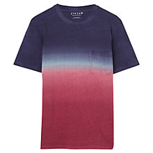 Buy Jigsaw Dip Dye Crew Neck T-Shirt Online at johnlewis.com