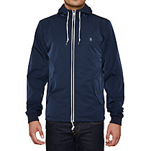 Buy Original Penguin Bomber P Varsity Jacket, Dark Sapphire Online at johnlewis.com