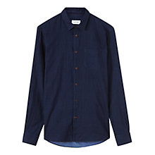 Buy Jigsaw Double Denim Slim Shirt, Indigo Online at johnlewis.com