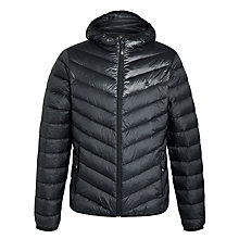 Buy Original Penguin Convey Down Padded Jacket, True Black Online at johnlewis.com