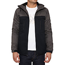 Buy Original Penguin Imperial 2 Tone Jacket, Dark Charcoal Online at johnlewis.com