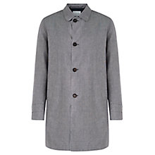 Buy Jigsaw Proofed Linen Mac, Grey Online at johnlewis.com