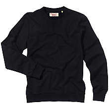 Buy Original Penguin Callahan Sweatshirt, True Black Online at johnlewis.com