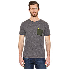 Buy Original Penguin Marks T-Shirt, Rain Heather Online at johnlewis.com