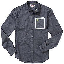 Buy Original Penguin Stones Shirt, Rain Heather Online at johnlewis.com