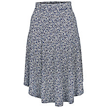 Buy Fat Face Westbourne Flower Skirt, Navy Online at johnlewis.com