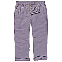 Buy Fat Face Linen Crop Trousers Online at johnlewis.com