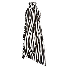 Buy Karen Millen Zebra Print Oversize Dress, Zebra Print Online at johnlewis.com