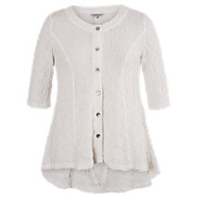 Buy Chesca Textured Bubble Jacket, Ivory Online at johnlewis.com