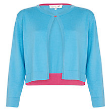 Buy Damsel in a dress Baltic Cardigan, Aqua/Pink Online at johnlewis.com