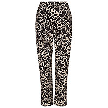 Buy Phase Eight Bridgette Trousers, Black/Putty Online at johnlewis.com