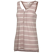 Buy Fat Face Hickling Cinch Back Vest, Brown Online at johnlewis.com