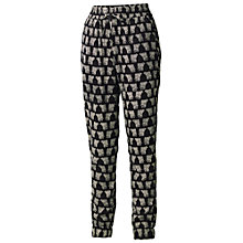 Buy Fat Face Elephant Printed Trousers, Phantom Online at johnlewis.com