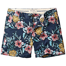 Buy Fat Face Pineapple Modern Chino Shorts, Navy Online at johnlewis.com