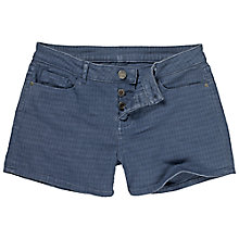 Buy Fat Face Mini Madison Denim Shorts, Blue Online at johnlewis.com