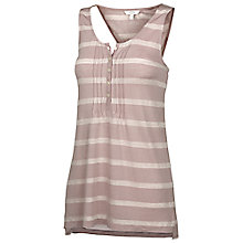 Buy Fat Face Vest Top, Taupe Online at johnlewis.com