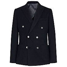 Buy Reiss Pitti Double Breasted Blazer, Navy Online at johnlewis.com